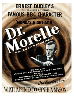 Dr. Morelle: The Case of the Missing Heiress - British Movie Poster (thumbnail)