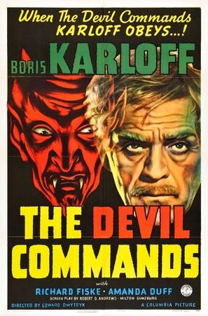 The Devil Commands - Movie Poster (thumbnail)