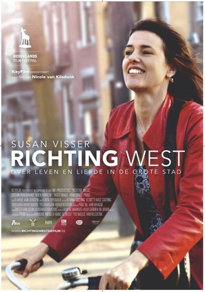 Richting west - Dutch Movie Poster (thumbnail)