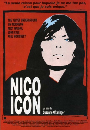 Nico Icon - French Movie Poster (thumbnail)