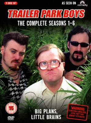 """Trailer Park Boys"" - British DVD cover (thumbnail)"