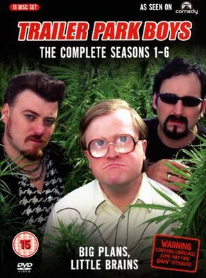 """Trailer Park Boys"" - British DVD movie cover (thumbnail)"