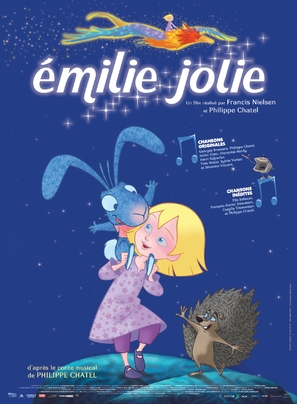Émilie jolie - French Movie Poster (thumbnail)