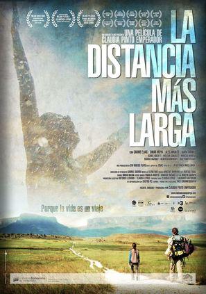 La distancia más larga - Venezuelan Movie Poster (thumbnail)