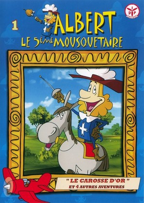 """Albert le 5ème mousquetaire"" - French DVD movie cover (thumbnail)"