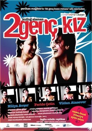 Iki genç kiz - Turkish Movie Poster (thumbnail)