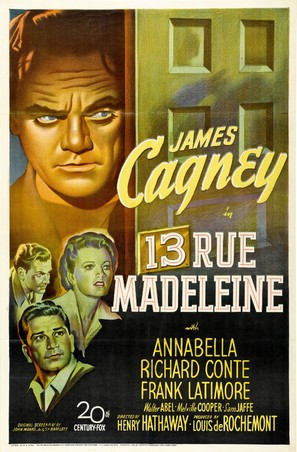 13 Rue Madeleine - Movie Poster (thumbnail)