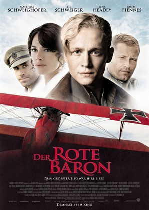Der rote Baron - German Movie Poster (thumbnail)