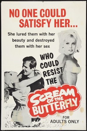 Scream of the Butterfly - Movie Poster (thumbnail)