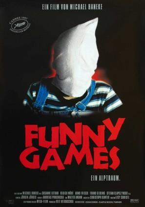 Funny Games - German Movie Poster (thumbnail)