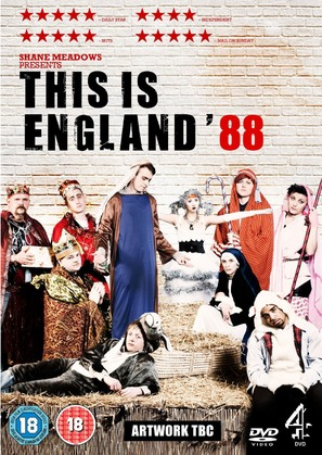 """""""This Is England '88"""" - British DVD movie cover (thumbnail)"""