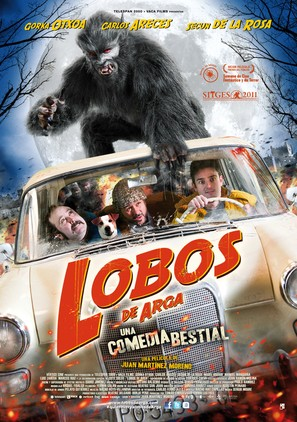 Lobos de Arga - Spanish Movie Poster (thumbnail)