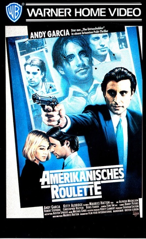 American Roulette - German VHS movie cover (thumbnail)