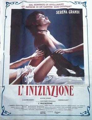 L'iniziazione - Italian Movie Poster (thumbnail)