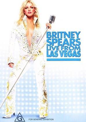Britney Spears Live from Las Vegas - Australian DVD cover (thumbnail)