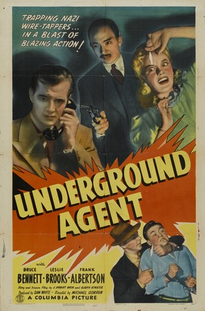 Underground Agent - Movie Poster (thumbnail)