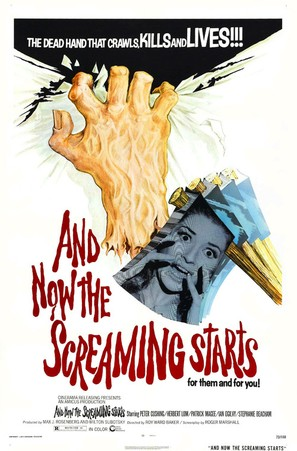 And Now the Screaming Starts! - Movie Poster (thumbnail)