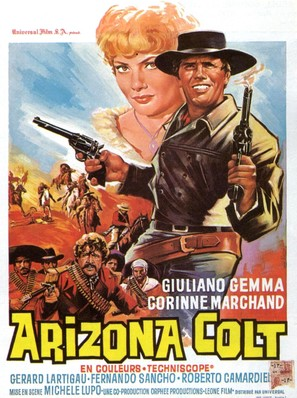 Arizona Colt - Belgian Movie Poster (thumbnail)