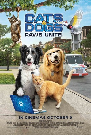 Cats & Dogs 3: Paws Unite - British Movie Poster (thumbnail)
