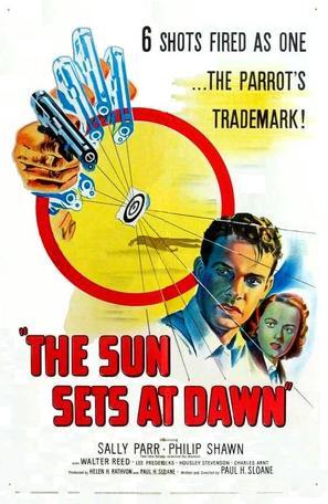 The Sun Sets at Dawn - Movie Poster (thumbnail)