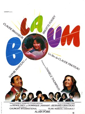 La Boum - French Movie Poster (thumbnail)