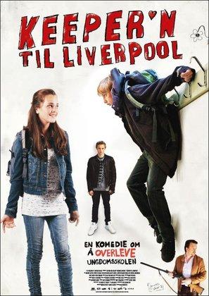 Keeper'n til Liverpool - Norwegian Movie Poster (thumbnail)