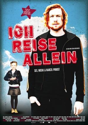 Jeg reiser alene - German Movie Poster (thumbnail)