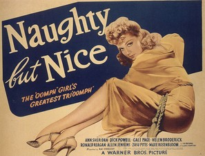 Naughty But Nice - Movie Poster (thumbnail)