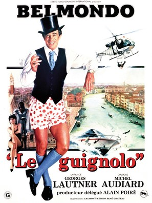 Le guignolo - French Movie Poster (thumbnail)
