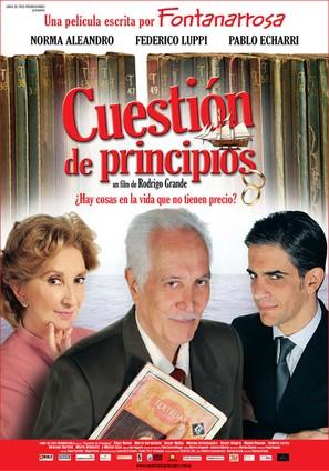 Cuestión de principios - Argentinian Movie Poster (thumbnail)