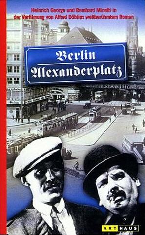 Berlin - Alexanderplatz - German Movie Cover (thumbnail)