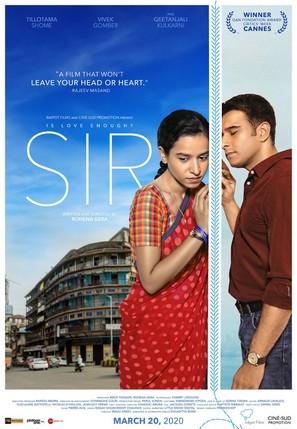 Sir - Indian Movie Poster (thumbnail)