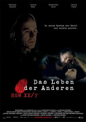 Das Leben der Anderen - German Movie Poster (thumbnail)