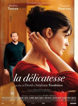 La délicatesse - French Movie Poster (thumbnail)