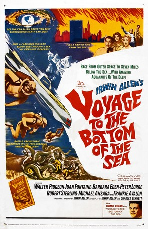 Voyage to the Bottom of the Sea - Theatrical poster (thumbnail)