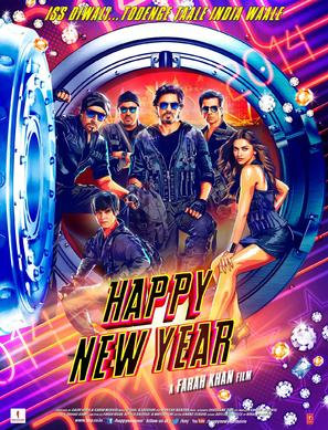 Happy New Year - Indian Movie Poster (thumbnail)