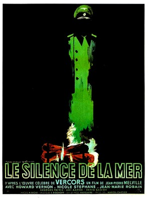 Le silence de la mer - French Movie Poster (thumbnail)