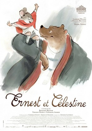 Ernest et Célestine - French Movie Poster (thumbnail)