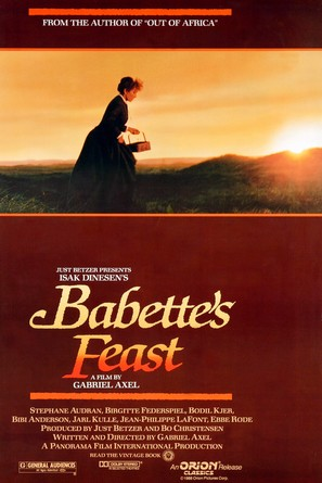 Babettes gæstebud - Movie Poster (thumbnail)
