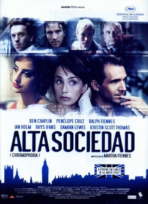 Chromophobia - Spanish Movie Poster (thumbnail)