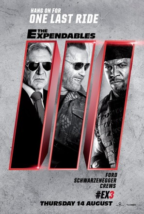 The Expendables 3 - British Movie Poster (thumbnail)