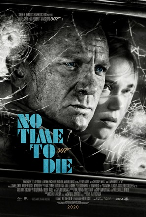 No Time to Die - International Theatrical movie poster (thumbnail)