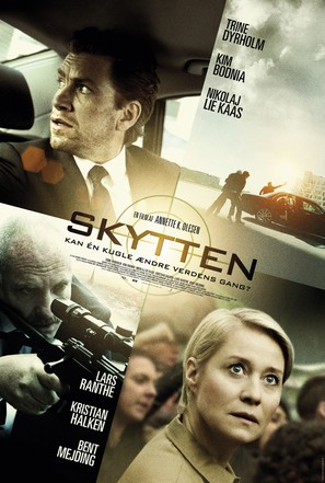 Skytten - Danish Movie Poster (thumbnail)