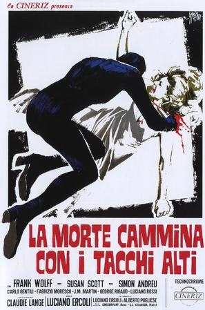 La morte cammina con i tacchi alti - Italian Movie Poster (thumbnail)
