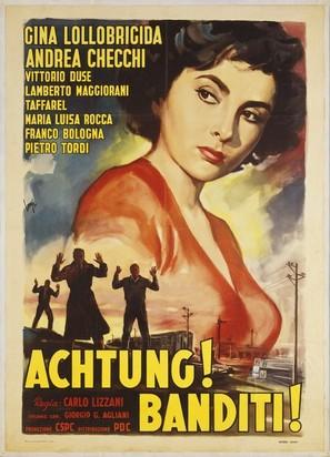 Achtung! Banditi! - Italian Movie Poster (thumbnail)