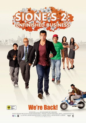 Sione's 2: Unfinished Business - New Zealand Movie Poster (thumbnail)