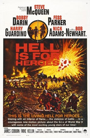 Hell Is for Heroes - Movie Poster (thumbnail)