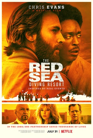 The Red Sea Diving Resort - Movie Poster (thumbnail)