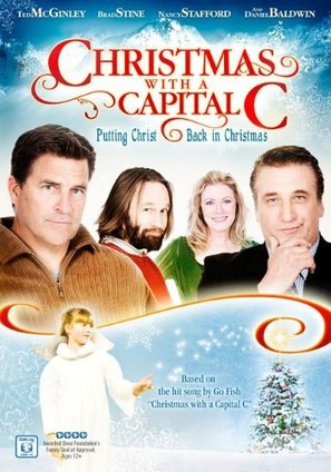 Christmas with a Capital C - DVD movie cover (thumbnail)