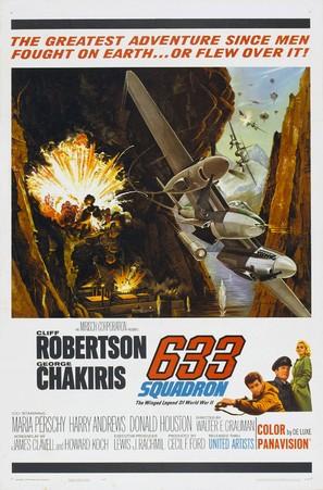 633 Squadron - Movie Poster (thumbnail)